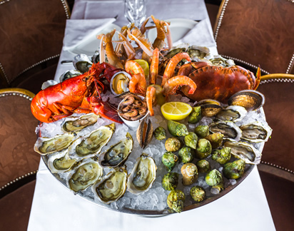 Nos plateaux de fruits de mer pour le plaisir de tous !