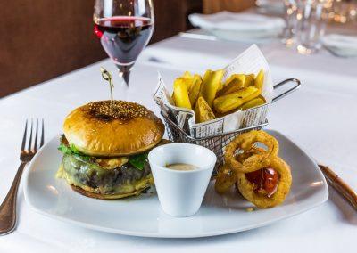 Hamburger des Beaux-Arts, (bœuf race Aubrac)