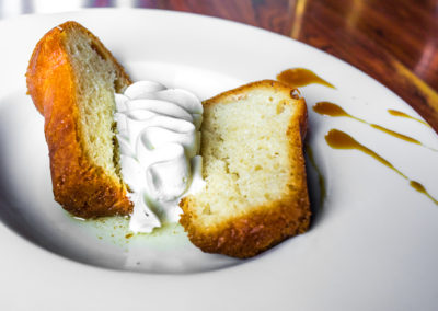 Baba au rhum Royal ambré, chantilly