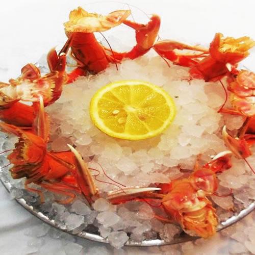 restaurant fruits de mer toulouse, langoustines
