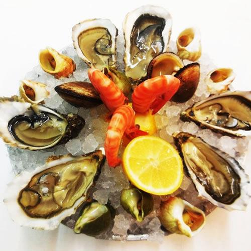 restaurant fruits de mer toulouse, plateau fruits de mer