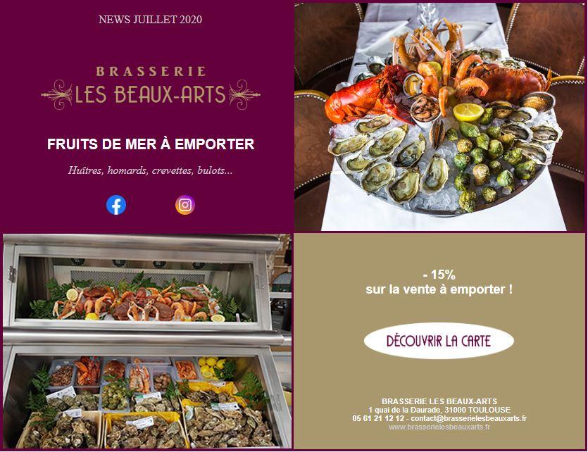 restaurant fruits de mer toulouse